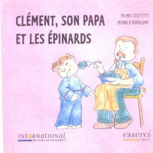 Clément son papa et les épinards 001